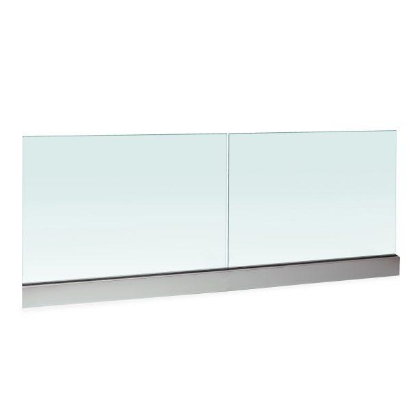 frameless glass base railings toronto