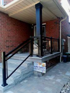 glass railings Oakville