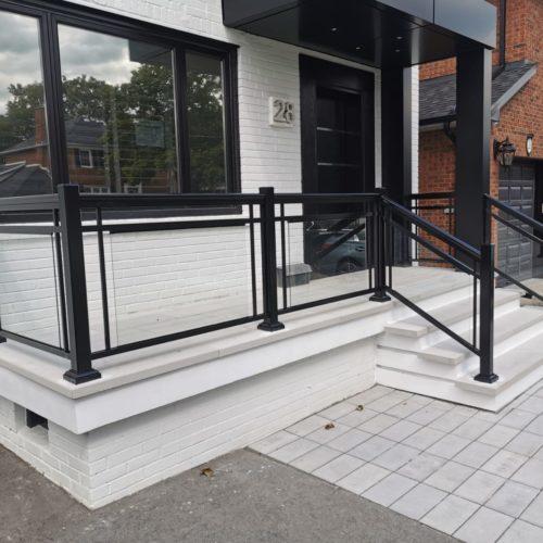 glass railings Richmond Hill