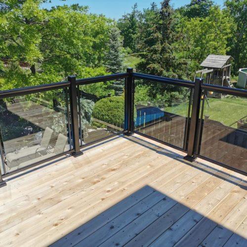 glass railings brampton