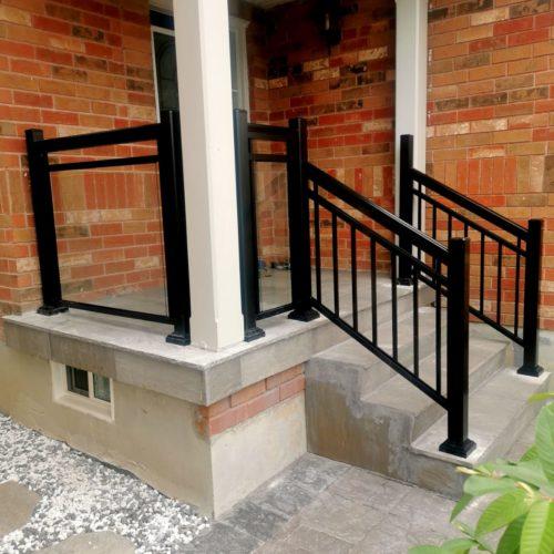 glass railings Oshawa